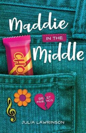 Maddie in the middle book cover